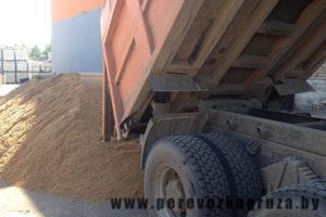 доставка песка в минске